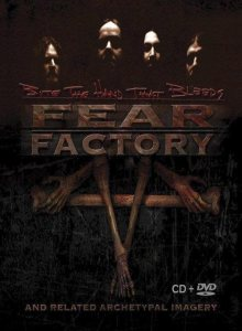 Fear Factory - Bite the Hand That Bleeds and Related Archetypal Imagery cover art