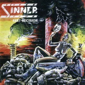 Sinner - Fast Decision cover art