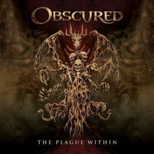Obscured - The Plague Within cover art