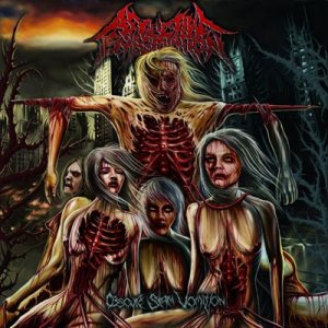 Afflictive Emasculation - Obscure Slam Vomition cover art