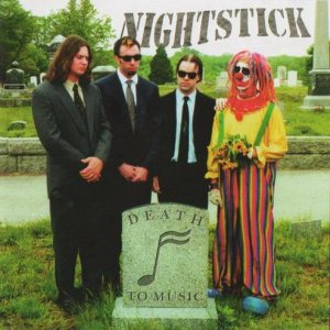 Nightstick - Death to Music cover art