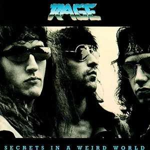 Rage - Secrets in a Weird World cover art