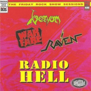 Venom - Radio Hell : the Friday Rock Show Sessions cover art