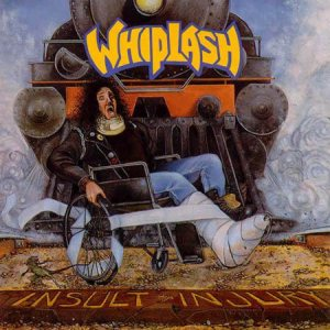 Whiplash - Insult to Injury cover art