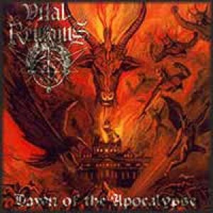 Vital Remains - Dawn of the Apocalypse cover art
