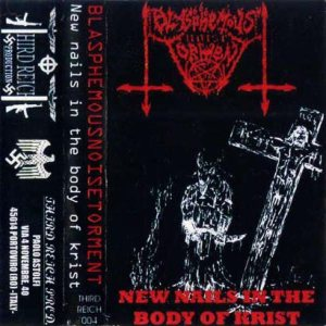 Blasphemous Noise Torment - New Nails in the Body of Krist cover art