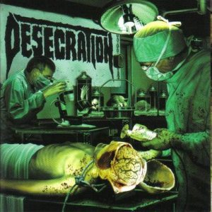 Desecration - Forensix cover art