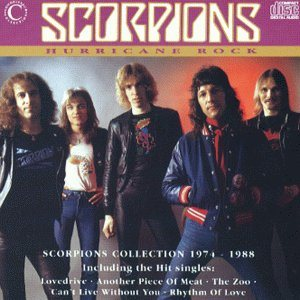 Scorpions - Hurricane Rock cover art
