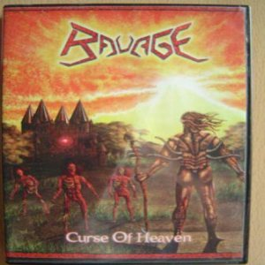 Ravage - Curse of Heaven cover art