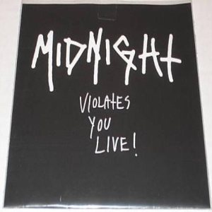 Midnight - Violates You Live! cover art