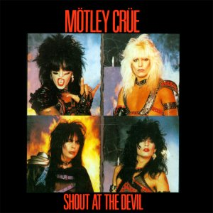 Mötley Crüe - Shout at the Devil cover art