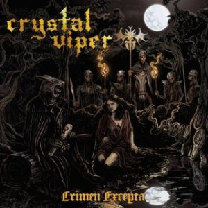 Crystal Viper - Crimen Excepta cover art