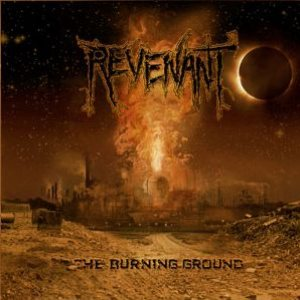 Revenant - The Burning Ground cover art