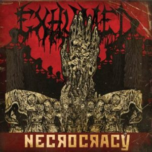 Exhumed - Necrocracy cover art
