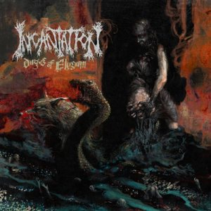 Incantation - Dirges of Elysium cover art