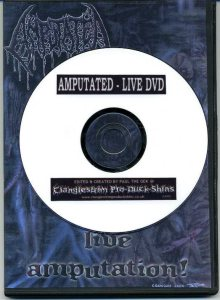 Amputated - Live Amputation! cover art