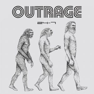 Outrage - 24-7 cover art