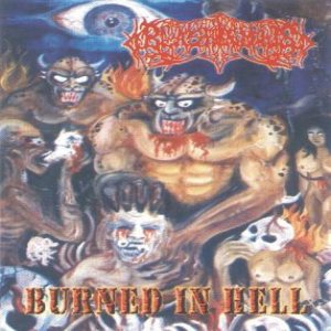 Blasphemous - Burned in Hell cover art