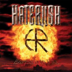 Haterush - Baptised in Fire cover art