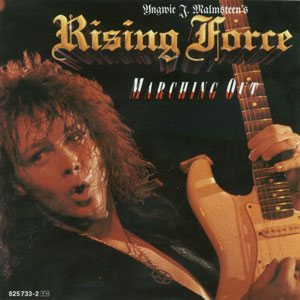 Yngwie J. Malmsteen's Rising Force - Marching Out cover art