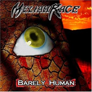 Meliah Rage - Barely Human cover art