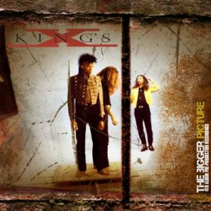 King's X - The Bigger Picture (4th Album Pre-Production Recordings) cover art