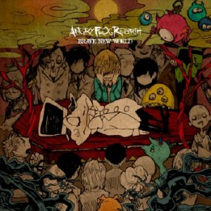 ANGRY FROG REBIRTH - BRAVE NEW WORLD cover art