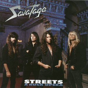 Savatage - Streets: A Rock Opera cover art