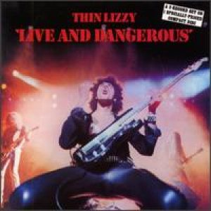 Thin Lizzy - Live and Dangerous cover art