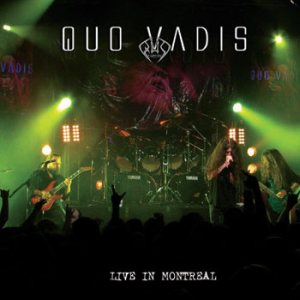 Quo Vadis - Live in Montreal cover art