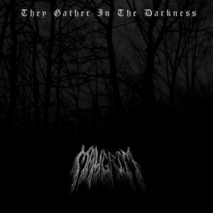 Maugrim - They Gather in the Darkness cover art