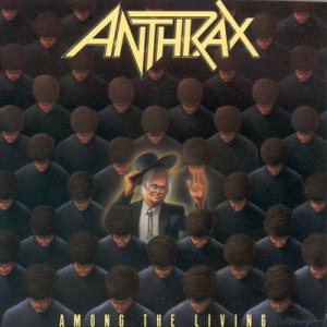 Anthrax - Among the Living cover art