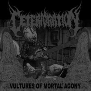 Deterioration - Vultures of Mortal Agony cover art