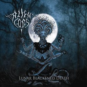 Alien Gods - Lunar Blackened Death cover art