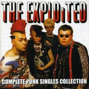 The Exploited - Complete Punk Singles Collection cover art