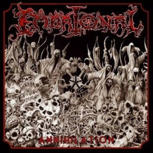 Embrional - Annihilation 2007 + Live cover art