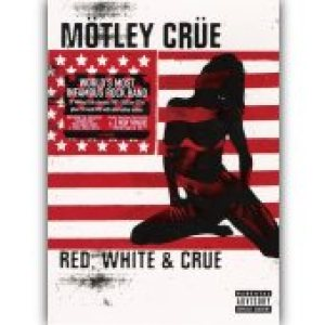 Motley Crue - Red, White & Crue cover art