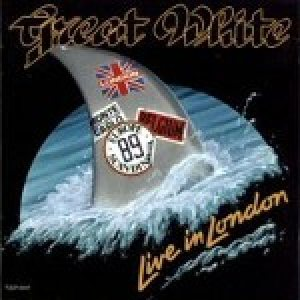 Great White - Live in London cover art