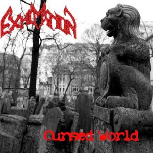 Exhumation - Cursed World cover art