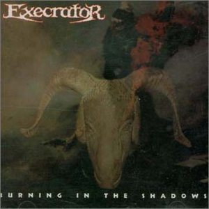 Execrator - Burning in the Shadows cover art