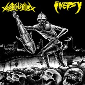 Toxic Holocaust - Toxic Holocaust / Inepsy cover art