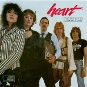 Heart - Greatest Hits / Live cover art