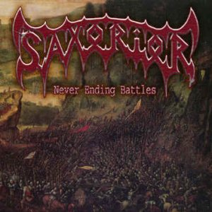Saxorior - Never Ending Battles cover art