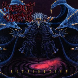 Malevolent Creation - Retribution cover art