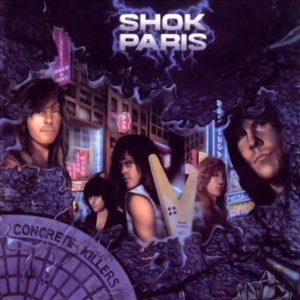 Shok Paris - Concrete Killers cover art