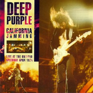 Deep Purple - California Jamming-Live 1974 cover art