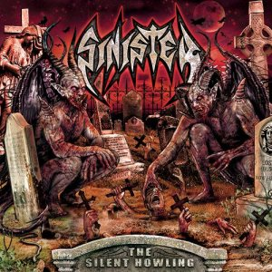 Sinister - The Silent Howling cover art