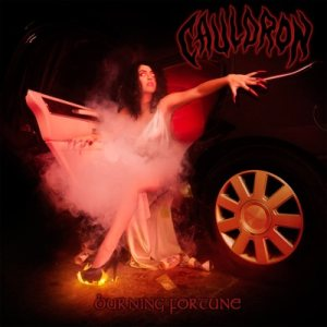 Cauldron - Burning Fortune cover art