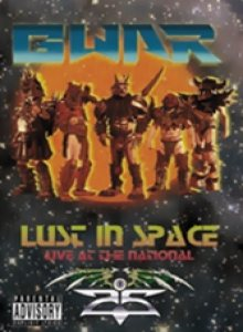 Gwar - Lust in Space - Live At the National cover art