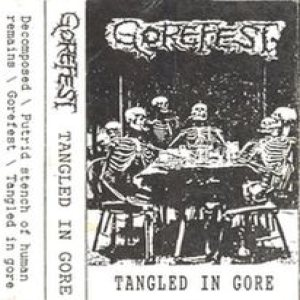 Gorefest - Tangled in Gore cover art